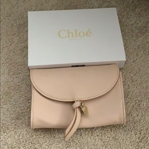 f9233a11 Chloe Bags | Mini Cosmetic Pouch And Perfume Sample Nwt | Poshmark
